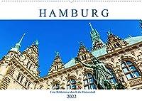 Hamburg - eine Bilderreise durch die Hansestadt (Wandkalender 2022 DIN A2 quer): fotografische Impressionen aus Hamburg (Monatskalender, 14 Seiten )