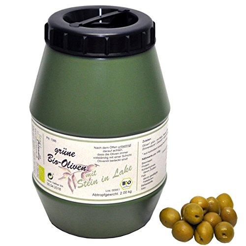 direct&friendly Bio Oliven grün mit Stein in Lake (2 kg)