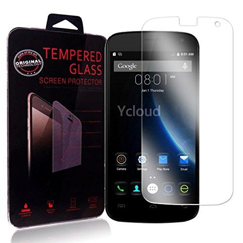 Ycloud Panzerglas Folie Schutzfolie Bildschirmschutzfolie für Doogee X3 screen protector mit Festigkeitgrad 9H, 0,26mm Ultra-Dünn, Abger&ete Kanten