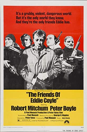 Berkin Arts Cartel de película Lámina giclée sobre Lienzo-Cartel de la película Reproducción Decoración de Pared(Los Amigos de Eddie Coyle 2) #XFB