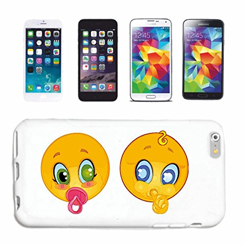Reifen-Markt Handyhülle kompatibel für iPhone 7+ Plus Zwei Baby Smiley MIT Schnuller Smileys Smilies Android iPhone Emoticons IOS GRINSE Gesicht Emoticon APP Hardc