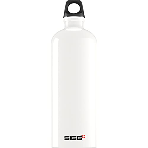 d2171b670e Amazon.com : Sigg Traveler Classic Water Bottle (1.0-Liters, Ivory ...