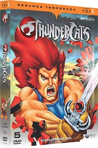 Thundercats 2ª Temporada Volume 1 Digibook 5 Discos