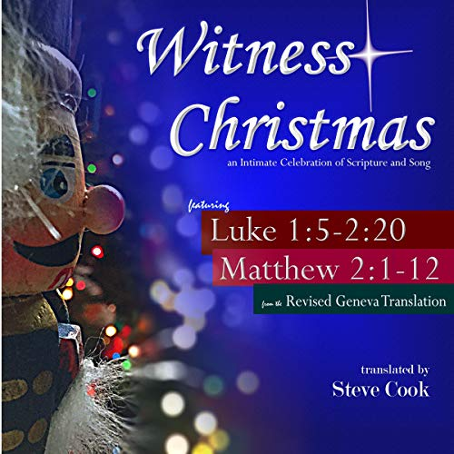 Witness Christmas Audiobook By Steve Cook cover art