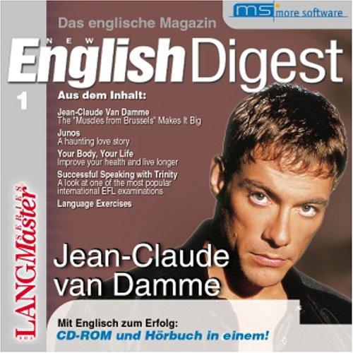 Preisvergleich Produktbild New English Digest,  CD-ROMs,  Tl.1 : Jean-Claude van Damme,  1 CD-ROM