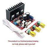Spachy TDA2030A 2.1 - Amplificador de Graves y subwoofer de 3 Canales (18 W x 2 + 30 W), No Cero, Y Listo, Tamaño Libre
