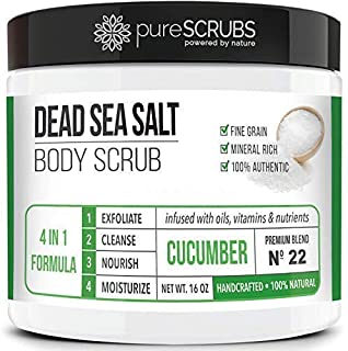 Best dead sea salt scrub uk Reviews
