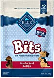 Blue Buffalo Blue Bits Natural Soft-Moist Training Dog Treats, Beef Recipe 16 Oz bag