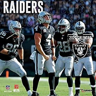 Raiders: 2020 12x12 Team Wall Calendar
