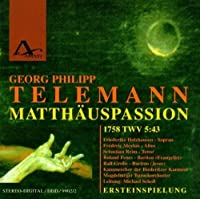 Matthaus-Passion by TELEMANNG.P.