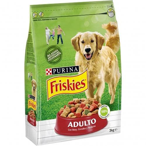 FRISKIES perro adulto Carne y verduras ⭐