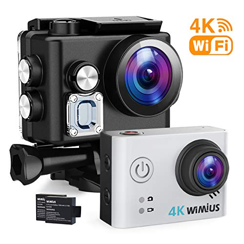 WIMIUS S2 Action camera WIFI Sport Action Camera videocamera da casco HD 1080 P 60fps 12MP 2,54 cm 40 m impermeabile