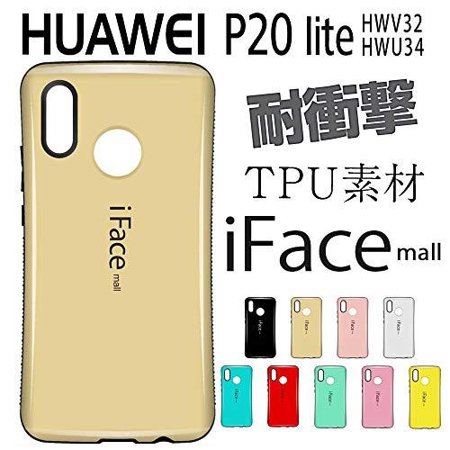 【iFace mall日本販売代理店】スマホケース Huawei P20 lite/Nova3e ケース 5.84 インチ au HWV32 対応 TPU シリコン Huawei P20 lite/Nova3e ケース アイフェイス モール Huawei