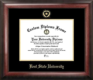 Campus Images OH989GED Kent State University Embossed Diploma Frame, 7