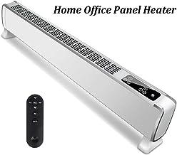 Calentador eléctrico de pared de panel calefactor radiador - Ultra Slim (8 cm) - 2000w - programable Termostato Digital - montar en la pared - Ajustable 3 configuraciones de temperatura - Bajo consumo