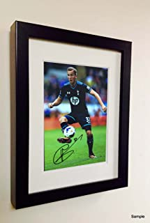Kitbags & Lockers Signed Harry Kane Autographed Tottenham Hotspur Spurs Photo Picture Frame Photograph