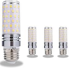 LED B15/B22/E12/E16/E17/E26/E27 maïs gloeilamp, 12W/16W keuken maïs licht, gelijkwaardig aan 160W halogeen bollen, Cool Wh...