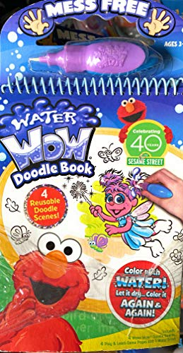 Sesame Street Water Wow Doodle Book