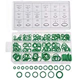 270 Pieces O Rings Assortment Kit Rubber Seal Gasket Washer 18 Popular Sizes for A/C Automotive, Mechanic, Tools & Home Repairs with Case