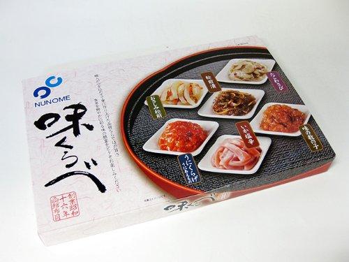 珍味詰合せ 味くらべ 6種類の珍味 たこわさび おさしみ松前 松前漬け 味の数の子 いか塩辛 うにくらげ