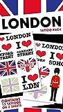 1art1 Londres, Pack 1, 13 Tattoos Set De Tattoos (17x10 cm) Y 1x Pegatina Sorpresa