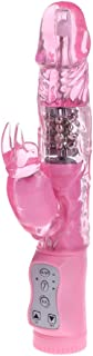 Villvi Powerful 12 Speeds T-hrusting R-otating Uograded G Spotter Dido Rabbit Toy for Women&Couples Waterproof&Whisper Quiet