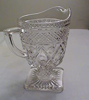 Vintage Imperial Glass Cape Cod-Clear Creamer