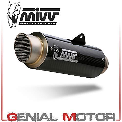 Tubo De Escape Silenciador MIVV GP PRO Carbono para 125 Duke 2017 17