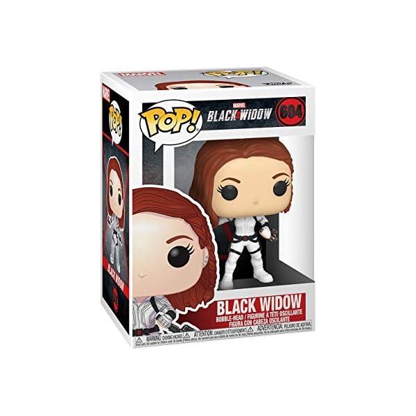 Funko Pop Black Widow traje blanco (Black Widow 604) Funko Pop Black Widow