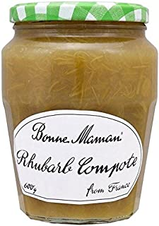 Bonne Maman Rhubarb Compote 600g - Pack of 2