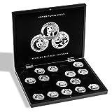 Estuche para 20 monedas de plata Panda en cápsulas, negro