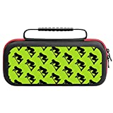 Sc-ooter- Boy -5B Carry Case for Nintendo Switch - Hard Shell Travel Carrying Storage Case for Nintendo Switch with 20 Game Cards Holders for Switch Console Pro Controller & Accessories Black