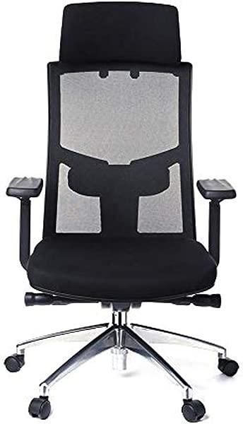 Office Chair Ryokozashi Ergonomic Office Chair High Back Mesh Office Chair Adjustable Headrest Computer Desk Chair For Lumbar Support