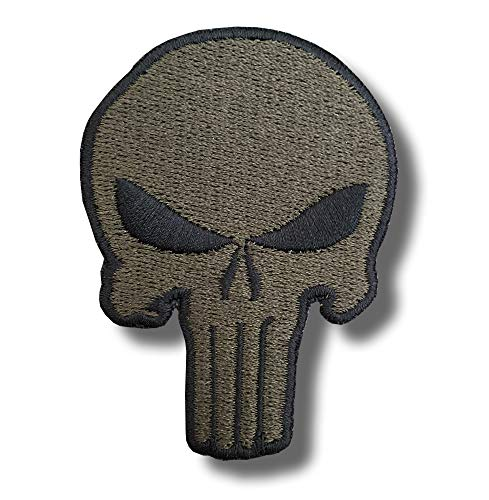 Punisher Skull - Embroidered Patch 5x7 cm