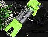 stts Aufladung Juicer Mini Fruit Glass Portable Electric Saft Saft Cup Kreatives Geschenk,Grün