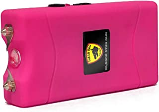 Guard Dog Disabler, Child Safety Stun Gun with Disable Pin, Rechargeable with LED Flashlight, Disable Pin and Holster Included (Pink)