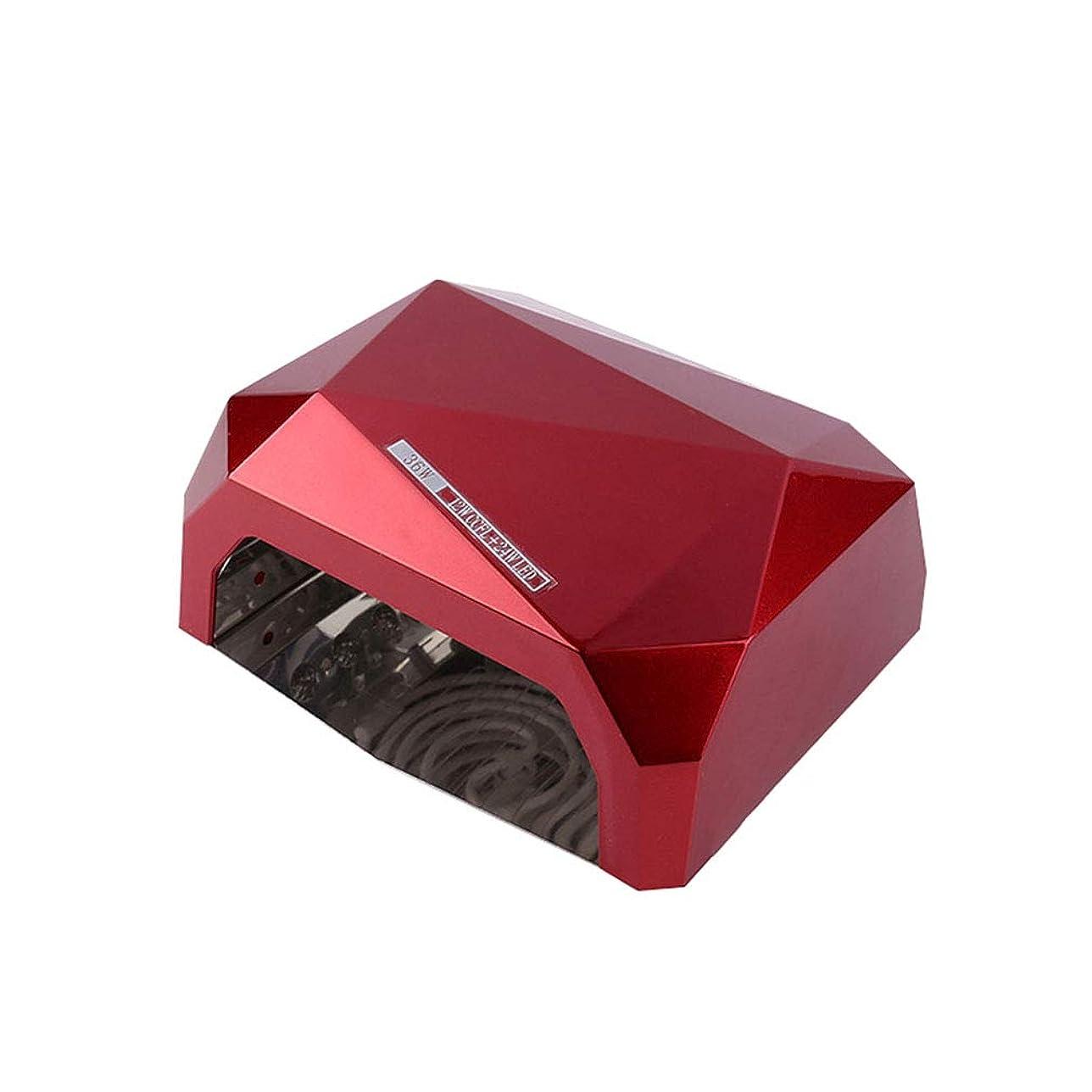 寄付するカリキュラムバイソン理性的なランプ機能、開いた設計、10s / 30s / 60s時間設定のゲルのマニキュアのシェラックのための36W紫外線/ LEDランプの釘のドライヤー