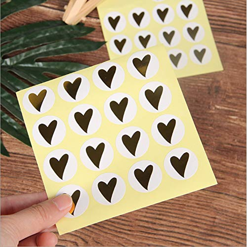 Kawaii Hot Stamping Hart Scrapbooking Papier Labels Seal Sticker Diy Gift Sticker 160 Stks/partij