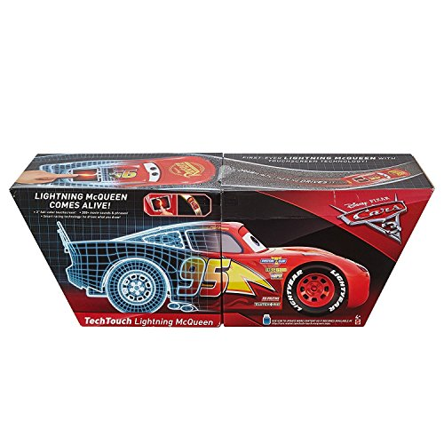 Disney Pixar Cars 3 - Tech Touch Lightning McQueen Vehicle