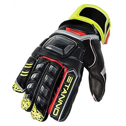 Stanno Thunder III - black-yellow-red, Größe Stanno:9