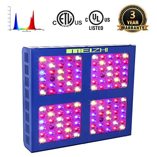 MEIZHI LED Grow Light 600W, Full Spectrum for...