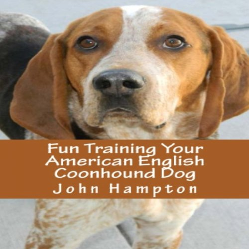 Fun Training Your American English Coonhound Dog audiobook cover art