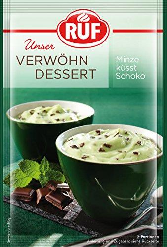 RUF Verwöhn Dessert Schoko Minz, 13er Pack (13 x 70 g)