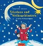 Nikolaus und Weihnachtsstern. 11 kleine Weihnachtsreime: Pappbilderbuch ab 2 Jahren
