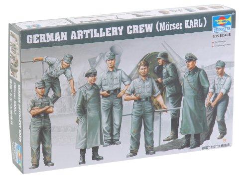 Trumpeter 00409 Modellbausatz Deutsche Artillerie Besatzung für Mörser Karl
