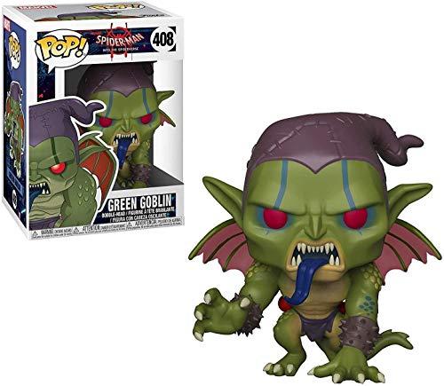 Funko 33979 POP Bobble: Marvel: Spider-Man: Into the Spider-Verse: Green Goblin