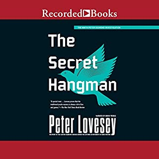 The Secret Hangman audiobook cover art