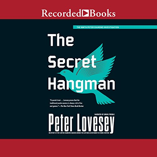 The Secret Hangman audiobook cover art
