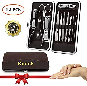 Nail Clippers Manicure Set Grooming Travel Kit