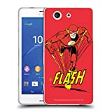 Official The Flash DC Comics Speedster Vintage Soft Gel Case Compatible for Sony Xperia Z3 Compact / D5803